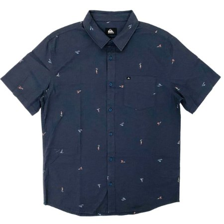 Camisa Quiksilver Yacht Rock India Ink Masculina