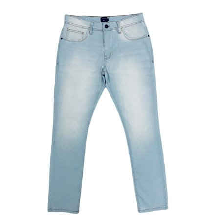 Calça Jeans Quiksilver Everyday Delave Azul Claro Masculina