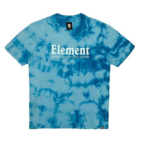 Camiseta Element Clouds Azul Masculina