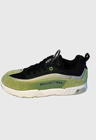 Tênis Dc Shoes Legacy 98 Slim Se Imp Olive/Preto (OB2) Masculino