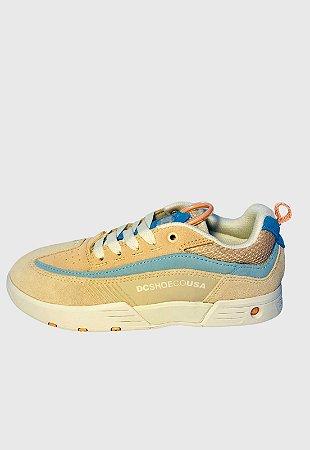 Tênis Dc Shoes Legacy 98 Slim Se Imp Tan Rosa Masculino