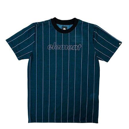 Camiseta Element  Referee Azul Masculina