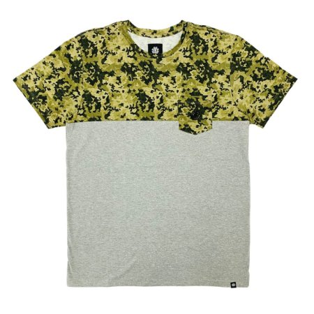 Camiseta Element Split Caqui Masculina