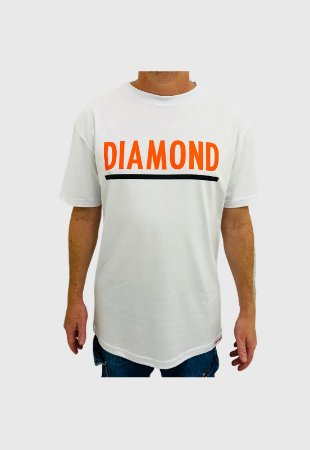 Camiseta Diamond Team Branca Masculina