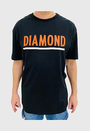 Camiseta Diamond Team Preta Masculina