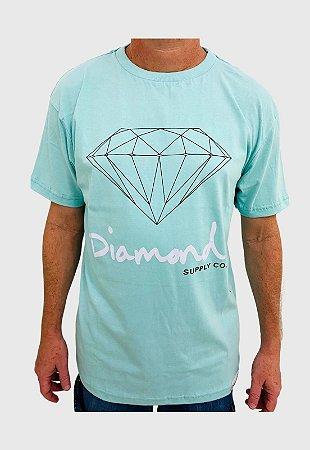 Camiseta Diamond Og Sign Azul Masculina