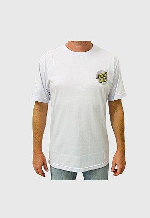 Camiseta Santa Cruz Flex Dot Branco Masculina