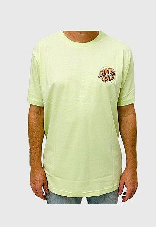 Camiseta Santa Cruz Toxic Hand Verde Masculina