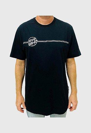 Camiseta Santa Cruz Bogus Hand  Preta Masculina
