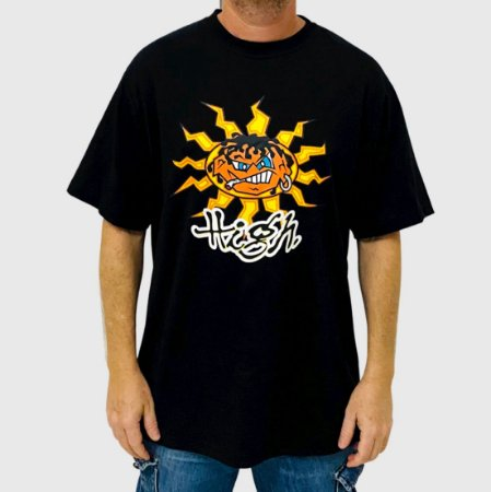 Camiseta High Junglist Preta