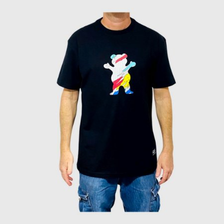 Camiseta Grizzly All That Og Bear Preto Masculina