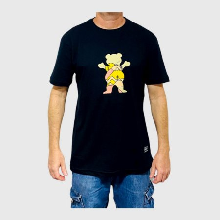 Camiseta Grizzly Mountain Belt Preto