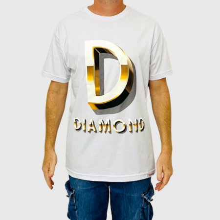 Camiseta Diamond Gloss Branca