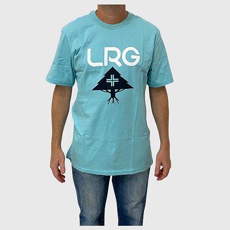 Camiseta LRG Stack Verde Claro