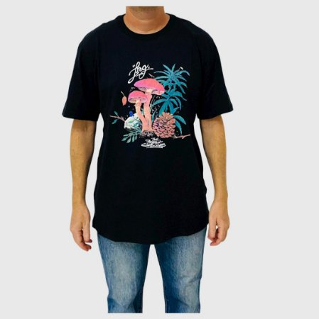Camiseta LRG High On Pine Preto