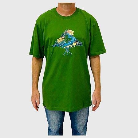 Camiseta LRG Research Verde Claro