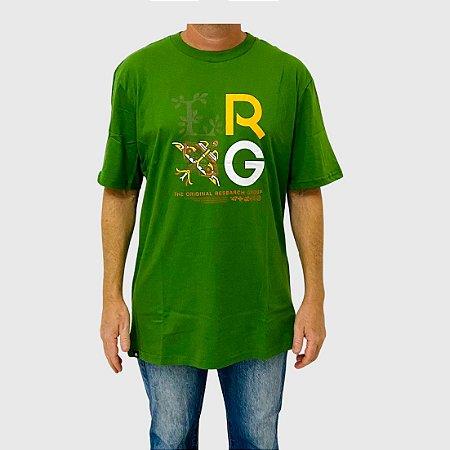 Camiseta LRG Stacke Verde Claro