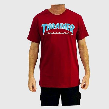 Camiseta Thrasher Outlined Vermelho