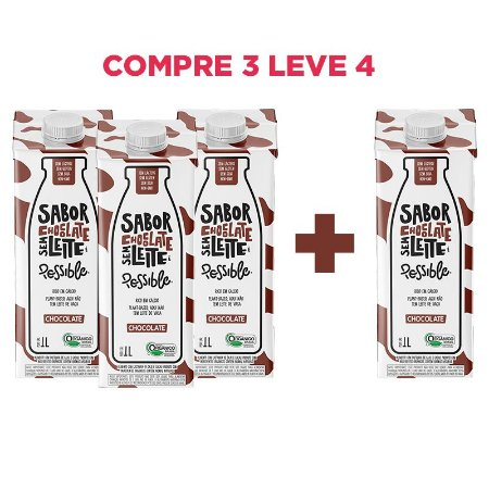 Combo Possible sabor Chocolate Compre 3 leve 4