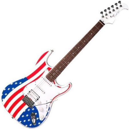 GUITARRA STS002 US EAGLE USA STRATO   UN