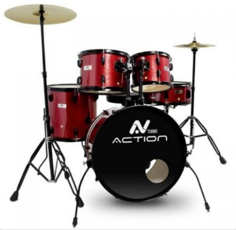 BATERIA SLAC522 SD TURBO ACTION VERMELHA