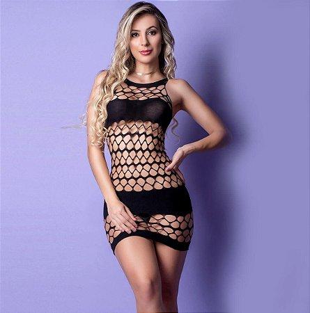 Yaffa Lingerie - Mini Vestido