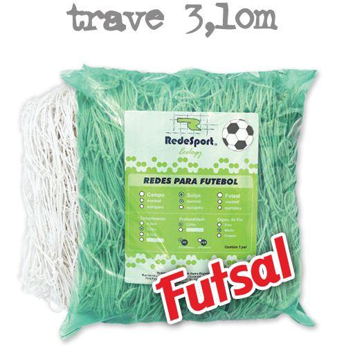 Rede para Gol Trave Oficial Futebol de SALÃO Ecology - FUTSAL (par)