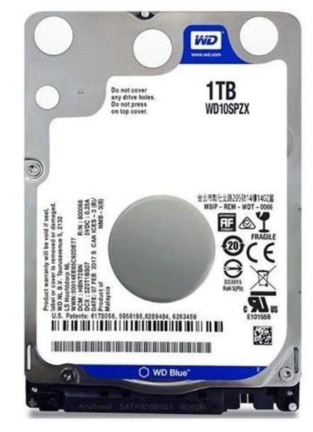 HD NOTEBOOK 1.0 TB SATA WESTERN
