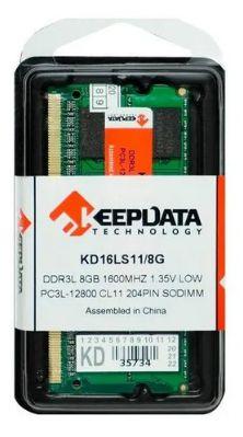 MEMORIA NOTEBOOK 8.0 GB DDR3L 1600 KEEPDATA KD16LS11/8G