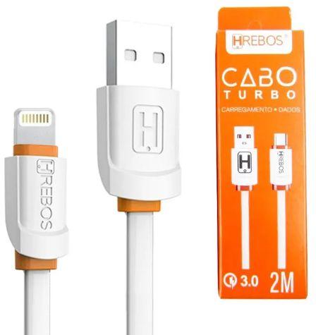 CABO USB APPLE 1 MT HREBOS HS-125