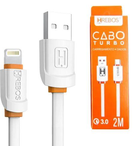 CABO USB APPLE 1 MT HREBOS HS-192