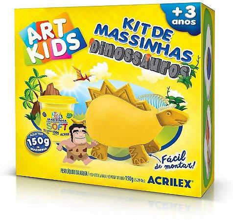 KIT DE MASSINHA DINOSSAURO 3 150G 4005100000