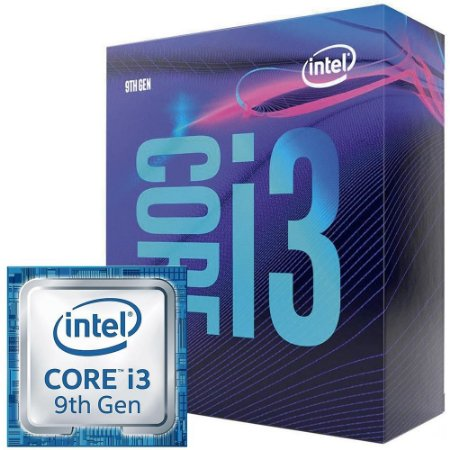 Processador Intel Core i3-9100F Coffee Lake, Cache 6MB, 3.6GHz (4.2GHz Max Turbo), LGA 1151 - BX80684I39100F