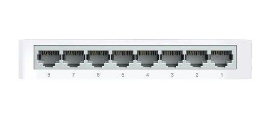Switch de Mesa TP-Link TL-SF1008D 8 Portas 10/100Mbps