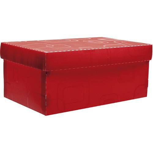 Caixa Organizadora Dellosmile Mini Vermelha