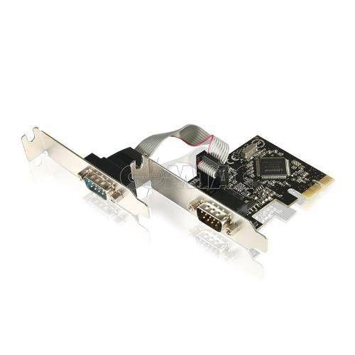 PLACA PCI EXPRESS (2 SERIAIS)(PERFIL BAIXO)(COMTAC)(9134)