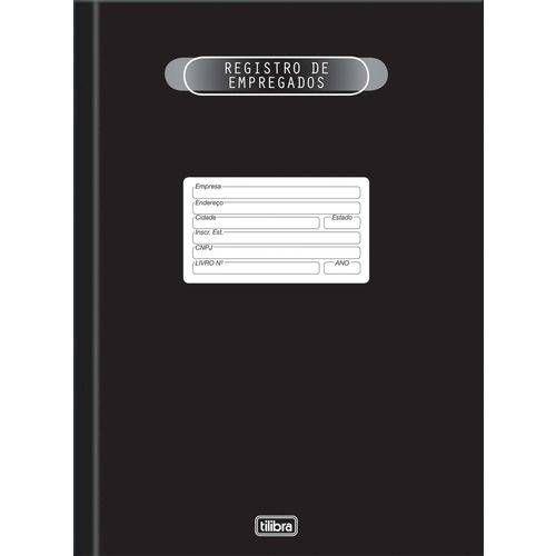 Livro Registro Empregado 50fls.218x319 Tilibra