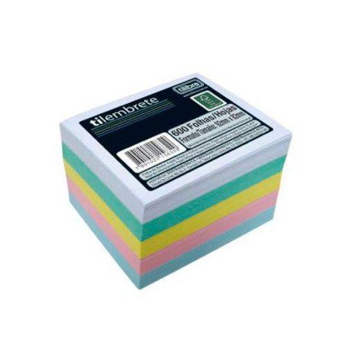 Papel Lembrete Colorido Tilembrete - Com 600 Folhas - Tilibra