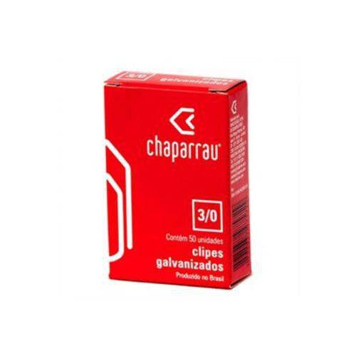 Clips Galvanizado 3/0 - Caixa Com 50 Unidades - Chaparrau