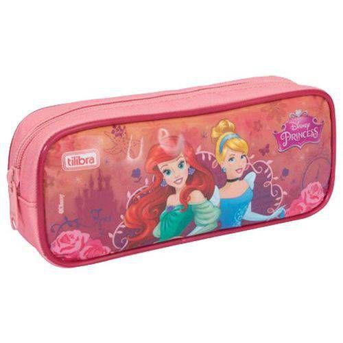 Estojo Escolar Princesas Disney  Tilibra