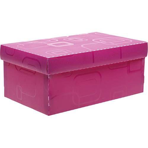 Caixa Organizadora Dellosmile Mini Rosa Pink
