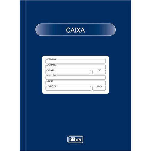 Livro Caixa A5 50fls - Tilibra