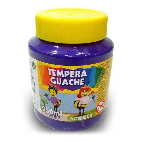 Tinta Tempera Guache 250ml Violeta 516 Acrilex