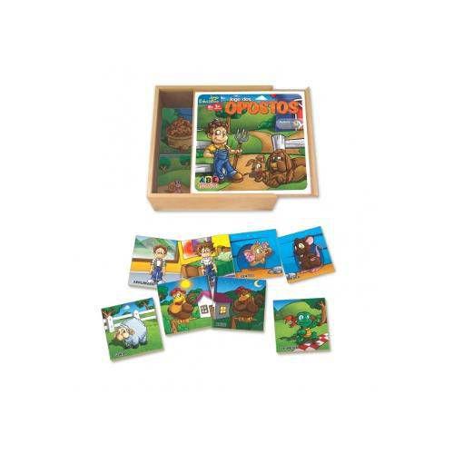 Jogo Dos Opostos - Abc Brinquedos