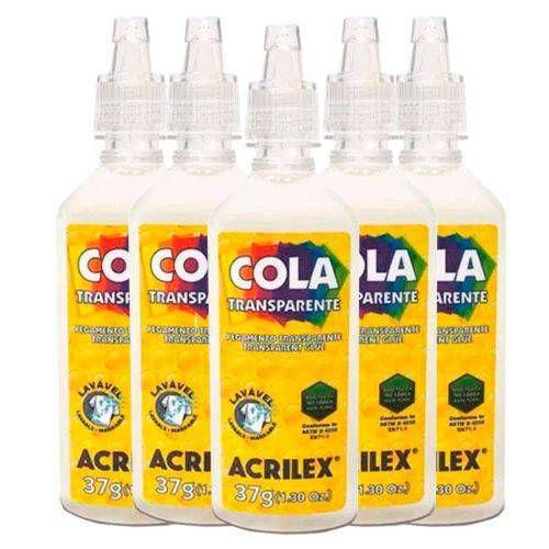 Cola Transparente Acrilex 37g