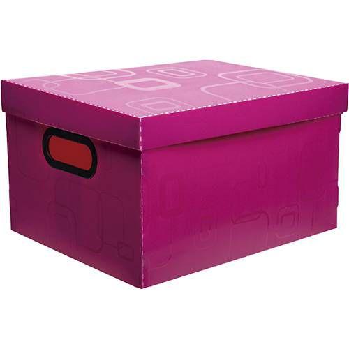 Caixa Organizadora Dellosmile Pequena Rosa Pink