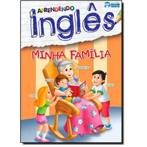 LIVRO APRENDENDO INGLES-MINHA FAMILIA BICHO ESPERTO