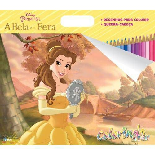 Disney Super Colorindo - A Bela E A Fera