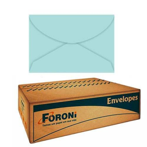 Envelope Color Plus Carta 114X162mm 80g Azul Claro