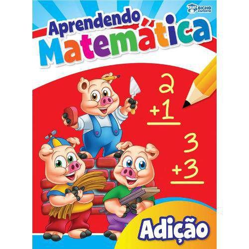 LIVRO APRENDENDO MATEMATICA-ADICAO BICHO ESPERTO